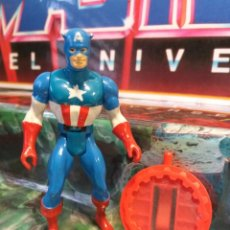 Figuras e Bonecos Secret Wars: FIGURA DE ACCION MARVEL SUPERHEROES SECRET WARS CAPITAN AMERICA MATTEL VINTAGE AÑOS 80. Lote 242914620