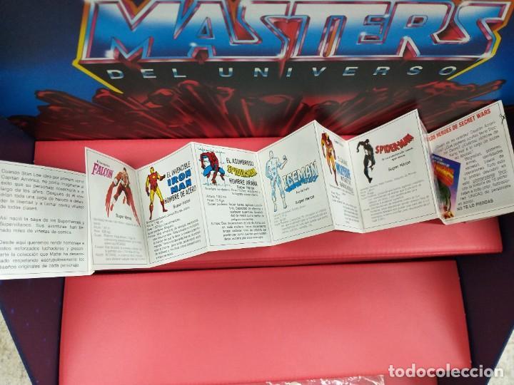 Figuras y Muñecos Secret Wars: catalogo folleto fichas marvel superheroes secret wars mattel vintage años 80 nuevo a estrenar - Foto 2 - 243067480