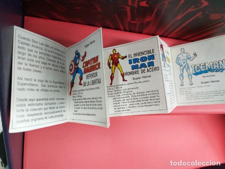 Figuras y Muñecos Secret Wars: catalogo folleto fichas marvel superheroes secret wars mattel vintage años 80 nuevo a estrenar - Foto 3 - 243067480