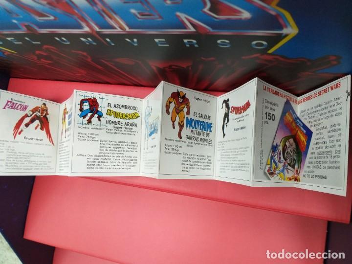 Figuras y Muñecos Secret Wars: catalogo folleto fichas marvel superheroes secret wars mattel vintage años 80 nuevo a estrenar - Foto 4 - 243067480