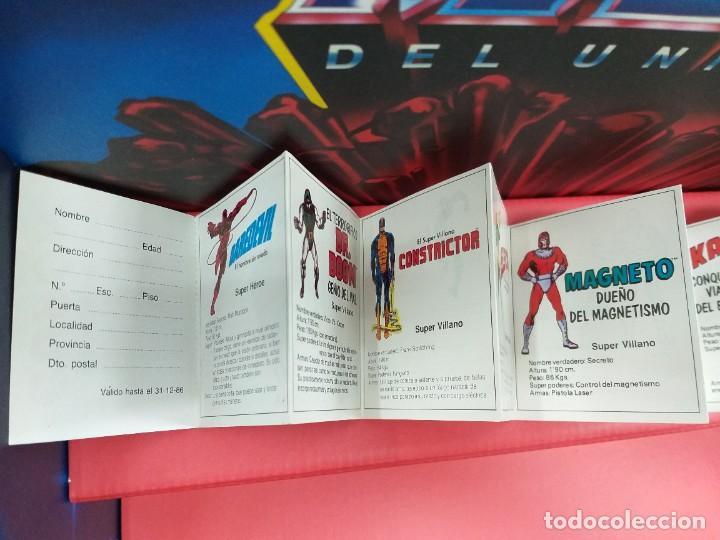 Figuras y Muñecos Secret Wars: catalogo folleto fichas marvel superheroes secret wars mattel vintage años 80 nuevo a estrenar - Foto 5 - 243067480