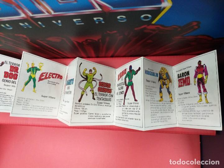 Figuras y Muñecos Secret Wars: catalogo folleto fichas marvel superheroes secret wars mattel vintage años 80 nuevo a estrenar - Foto 6 - 243067480