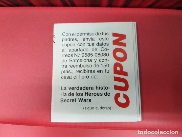 Figuras y Muñecos Secret Wars: catalogo folleto fichas marvel superheroes secret wars mattel vintage años 80 nuevo a estrenar - Foto 7 - 243067480