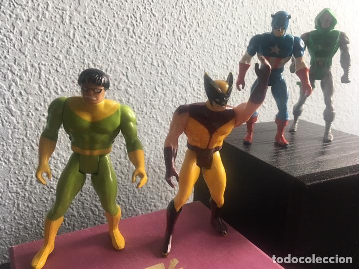Figuras y Muñecos Secret Wars: 5 FIGURAS SECRET WARS MARVEL 1984 - Foto 2 - 271799893