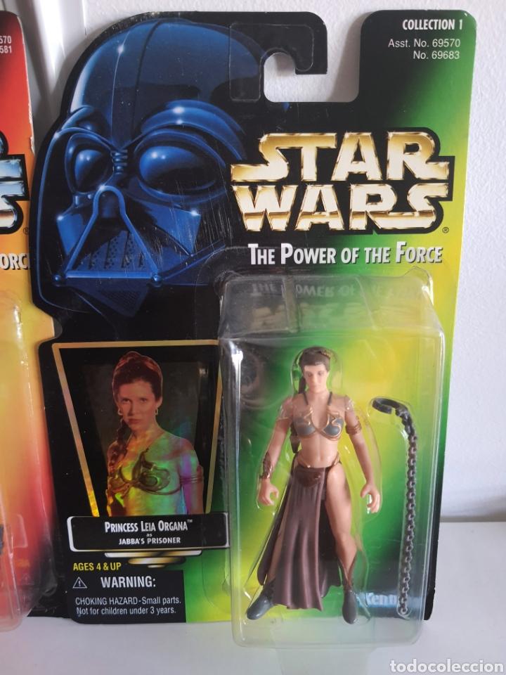Figuras y Muñecos Secret Wars: STAR WARS THE POWER OFTHE FORCE LUKE Y LEIA KENNER ANTIGUAS - Foto 3 - 252322360