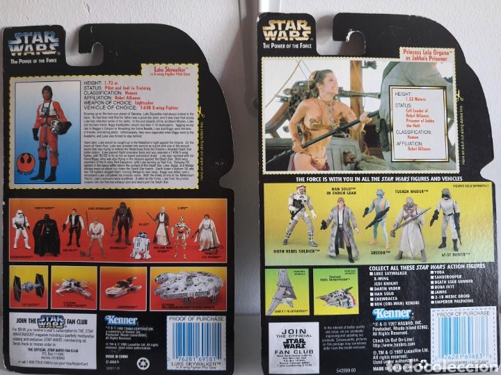 Figuras y Muñecos Secret Wars: STAR WARS THE POWER OFTHE FORCE LUKE Y LEIA KENNER ANTIGUAS - Foto 4 - 252322360