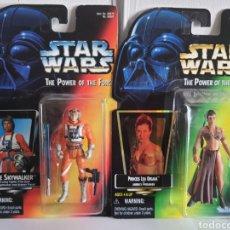 Figuras y Muñecos Secret Wars: STAR WARS THE POWER OFTHE FORCE LUKE Y LEIA KENNER ANTIGUAS. Lote 252322360