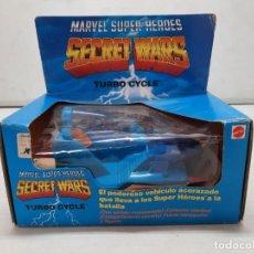 Figuras e Bonecos Secret Wars: SECRET WARS TURBO CYCLE PRECINTADO NUEVO A ESTRENAR!! MATTEL. Lote 252604545
