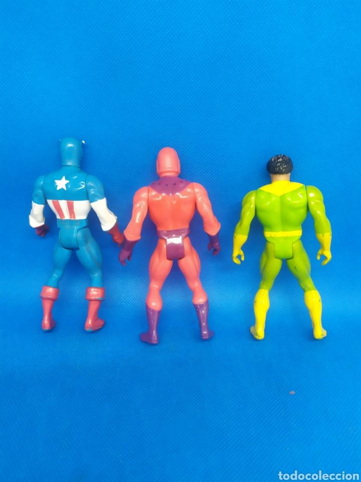 Figuras y Muñecos Secret Wars: Figuras Secret Wars Mattel Capitán América Magneto Doctor Octopus - Foto 2 - 253435775