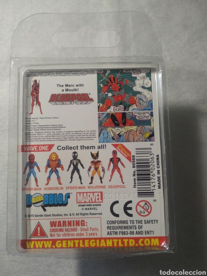 Figuras y Muñecos Secret Wars: Completa ! Lote MARVEL SUPER HÉROES SECRET WARS Micro Bobbles by Gentle Giant Deadpool HOBGOBLIN, - Foto 8 - 253789775