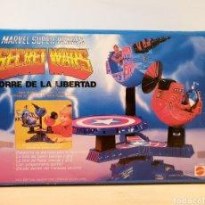 Figuras y Muñecos Secret Wars: SECRET WARS TORRE DE LA LIBERTAD CAJA VACÍA. Lote 255411295