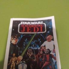 Figuras y Muñecos Secret Wars: CATÁLOGO STAR WARS EL RETORNO DEL JEDI ORIGINAL. Lote 259725110