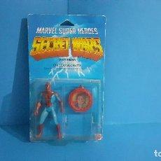 Figuras y Muñecos Secret Wars: BLISTER SPIDERMAN SECRET WARS. CONGOSTO. MATTEL 1985.. Lote 265652554