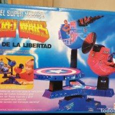 Figuras y Muñecos Secret Wars: TORRE DE LA LIBERTAD SECRET WARS MARVEL SUPER HEROES MATTEL REF. 9392 CON CAJA AÑO 1985. Lote 274592508
