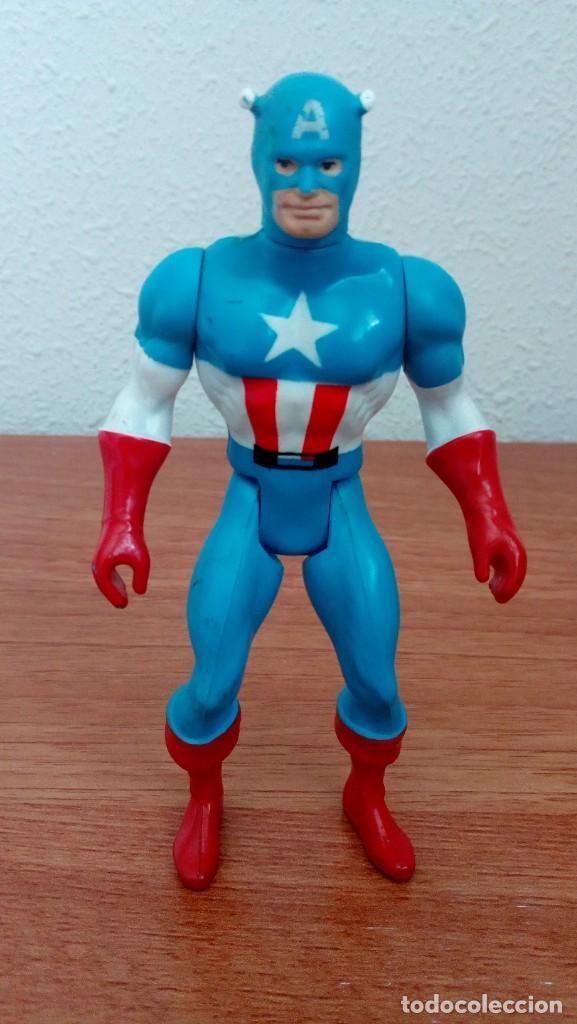 Figuras y Muñecos Secret Wars: Figura Capitán América Escudo Marvel Secret Wars Mattel France 1984 Completo - Foto 2 - 278762413