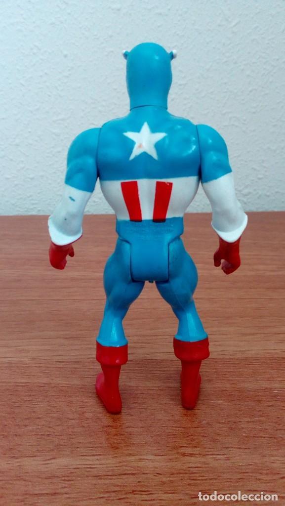Figuras y Muñecos Secret Wars: Figura Capitán América Escudo Marvel Secret Wars Mattel France 1984 Completo - Foto 3 - 278762413