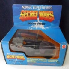 Figuras y Muñecos Secret Wars: MARVEL SECRET WARS DOOM CYCLE MATTEL FRANCE 1984. Lote 282487748