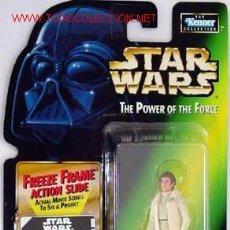 Figuras y Muñecos Star Wars: PRINCESS LEIA ORGANA IN HOTH GEAR WITH BLASTER PISTOL.BLISTER USA INTACTO. POSIBILIDAD DE LOTES.. Lote 26746583