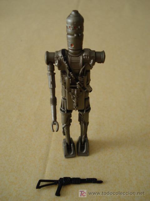 Figuras y Muñecos Star Wars: Vista de la figura con su arma. - Foto 4 - 26685080