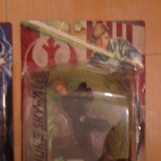 Figuras y Muñecos Star Wars: LUKE SKYWALKER, FIGURA CON BLISTER DE LA SERIE UNLEASHED. STAR WARS. Lote 178905953