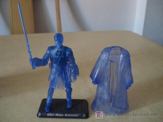 Figuras y Muñecos Star Wars: HOLOGRAPHIC OBI-WAN KENOBI. En blister USA. POSIBILIDAD DE AGRUPAR LOTES CON DESCUENTOS. - Foto 2 - 26979148