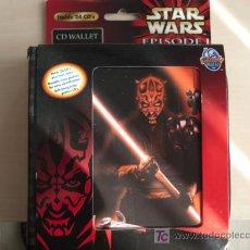 Figuras y Muñecos Star Wars: ESTUCHE DE STAR WARS PARA GUARDAR PERFECTAMENTE DISCOS CDS, DVDS, JUEGOS. EN .. Lote 27162370