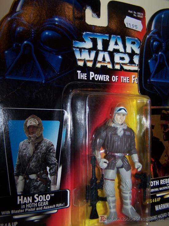 FIGURA STAR WARS LA GUERRA DE LAS GALAXIAS EN SU CAJA OTIGINAL SIN ABRIR HAN SOLO HOTH (Juguetes - Figuras de Acción - Star Wars)