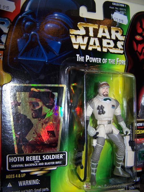 FIGURA STAR WARS LA GUERRA DE LAS GALAXIAS EN SU CAJA OTIGINAL SIN ABRIR HOTH REBEL SOLDIER (Juguetes - Figuras de Acción - Star Wars)