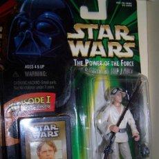 Figuras y Muñecos Star Wars: FIGURA STAR WARS LA GUERRA DE LAS GALAXIAS EN SU CAJA ORIGINAL SIN ABRIR LUKE SKYWALKER. Lote 8800619