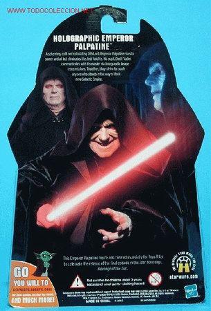 Figuras y Muñecos Star Wars: Parte trasera del blister - Foto 3 - 26979138
