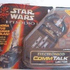 Figuras y Muñecos Star Wars: STAR WARS EPISODIO I ELECTRONICO COMMTALK LECTOR EN BLISTER DE HASBRO. CC. Lote 17907130