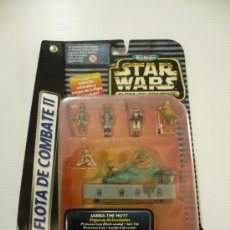 Figuras y Muñecos Star Wars: STAR WARS JABBA THE HUTT.MICROMACHINES. DESERT PALACE.FLOTA DE COMBATE.. Lote 18986091