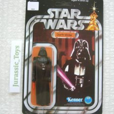 Figuras y Muñecos Star Wars: 1977 (KENNER) STAR WARS: DARTH VADER 12-BACK / NUEVO EN BLISTER - MOC - VINTAGE. Lote 224439132