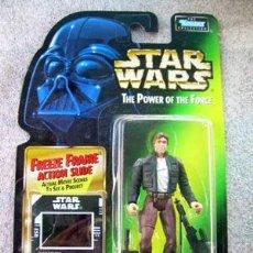 Figuras y Muñecos Star Wars: FIGURA OFICIAL STAR WARS POTF HAN SOLO BESPIN AÑO 1997 DE KENNER EN BLISTER - NUEVO. Lote 17065649