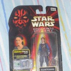 Figuras y Muñecos Star Wars: STAR WARS - EPISODIO 1 - PADME NABERRIE - CONSERVA CHIP - BLISTER ABIERTO POR DEBAJO. Lote 27099201