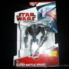 Figuras y Muñecos Star Wars: STAR WARS. THE CLONE WARS. SUPER BATTLE DROID. CW11.NUEVO EN SU BLISTER ORIGINAL.. Lote 145018617