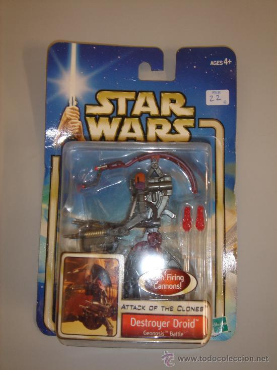 DESTROYER DROID STAR WARS (Juguetes - Figuras de Acción - Star Wars)