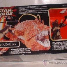 Figuras y Muñecos Star Wars: STAR WARS, EPISODIO I, OPEE Y QUI-GON JINN, DE HASBRO, EN CAJA. CC. Lote 23829967
