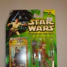 Figuras y Muñecos Star Wars: STAR WARS POWER OF THE JEDI - GUNGAN WARRIOR. Lote 24023309