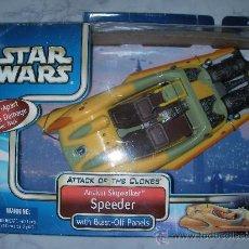 Figuras y Muñecos Star Wars: ANTIGUA CAJA CON NAVE DE ANAKIN SKYWALKER SPEEDER. Lote 24281142