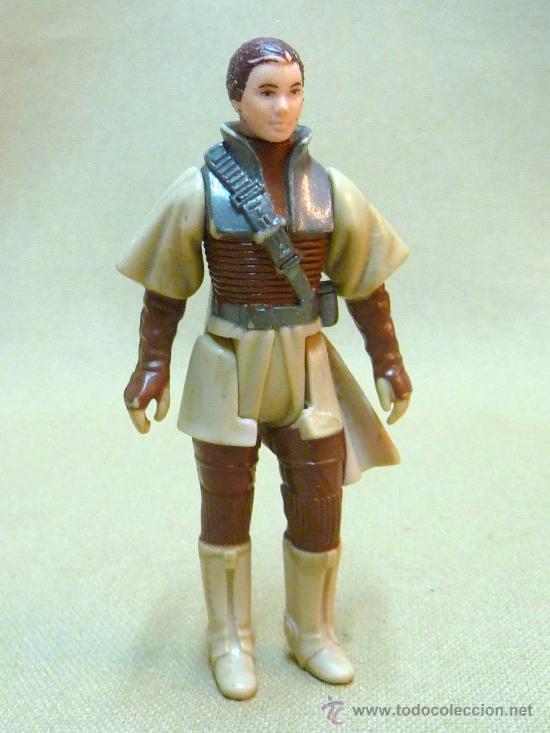 FIGURA DE PLASTICO RIGIDO, ARTICULADA, STAR WARS, MON MOTHMA, LFL, 1983 (Juguetes - Figuras de Acción - Star Wars)
