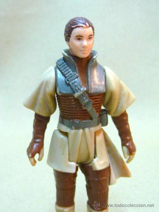 Figuras y Muñecos Star Wars: FIGURA DE PLASTICO RIGIDO, ARTICULADA, STAR WARS, MON MOTHMA, LFL, 1983 - Foto 4 - 24309633
