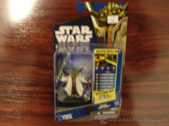 STAR WARS - THE CLONE WARS (YODA CW05) (Juguetes - Figuras de Acción - Star Wars)