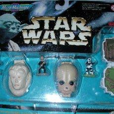 Figuras y Muñecos Star Wars: STAR WARS MICROMACHINES BLISTER NUEVO. Lote 24720838