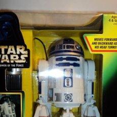 Figuras y Muñecos Star Wars: STAR WARS R2-D2 ELECTRÓNICO CON CABLE FILOGUIADO, SONIDOS Y LUCES AUTENTICOS. MARCA KENNER 1997.. Lote 26612293