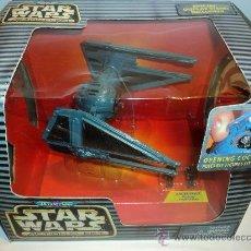 Figuras y Muñecos Star Wars: STAR WARS MICROMACHINES, TIE INTERCEPTOR CON DOS PILOTOS IMPERIALES.. Lote 26612299
