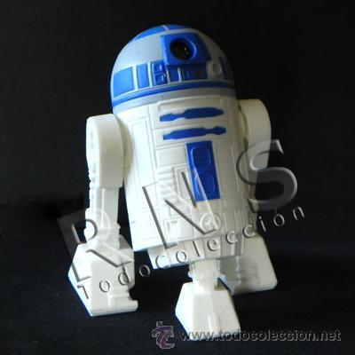 R2D2 CON SONIDO MUÑECO PERSONAJE LA GUERRA DE LAS GALAXIAS FIGURA STAR WARS ROBOT JUGUETE CINE R2 D2 (Juguetes - Figuras de Acción - Star Wars)