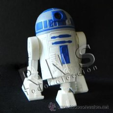 Figuras y Muñecos Star Wars: R2D2 CON SONIDO MUÑECO PERSONAJE LA GUERRA DE LAS GALAXIAS FIGURA STAR WARS ROBOT JUGUETE CINE R2 D2. Lote 28225993