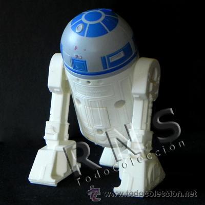 Figuras y Muñecos Star Wars: R2D2 CON SONIDO MUÑECO PERSONAJE LA GUERRA DE LAS GALAXIAS FIGURA STAR WARS ROBOT JUGUETE CINE R2 D2 - Foto 2 - 28225993