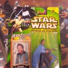 Figuras y Muñecos Star Wars: STAR WARS POWER OF THE JEDI - LANDO CALRISSIAN (BESPIN ESCAPE). Lote 27199465